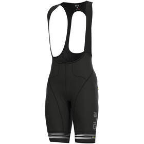 Alé Cycling Graphics PRR Slide Culotte con tirantes Hombre, black-white